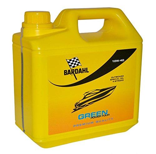 OLIO NAUTICO BARDAHL 10W-40 OUTBOARD 4 TEMPI GREEN POWER