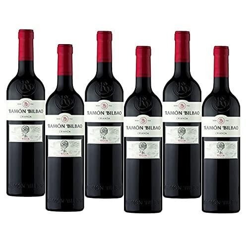Ramón Bilbao Crianza - 6 Botellas - Vino Tinto DO Rioja - Seleccionado y Enviado por Cosecha Privada