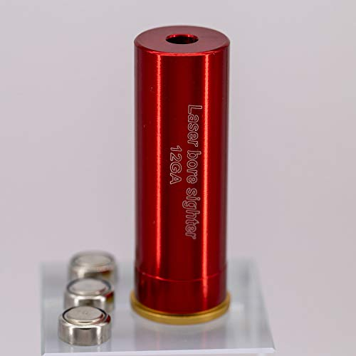 MAYMOC 12G calibre cartucho Bore Sighter colimador