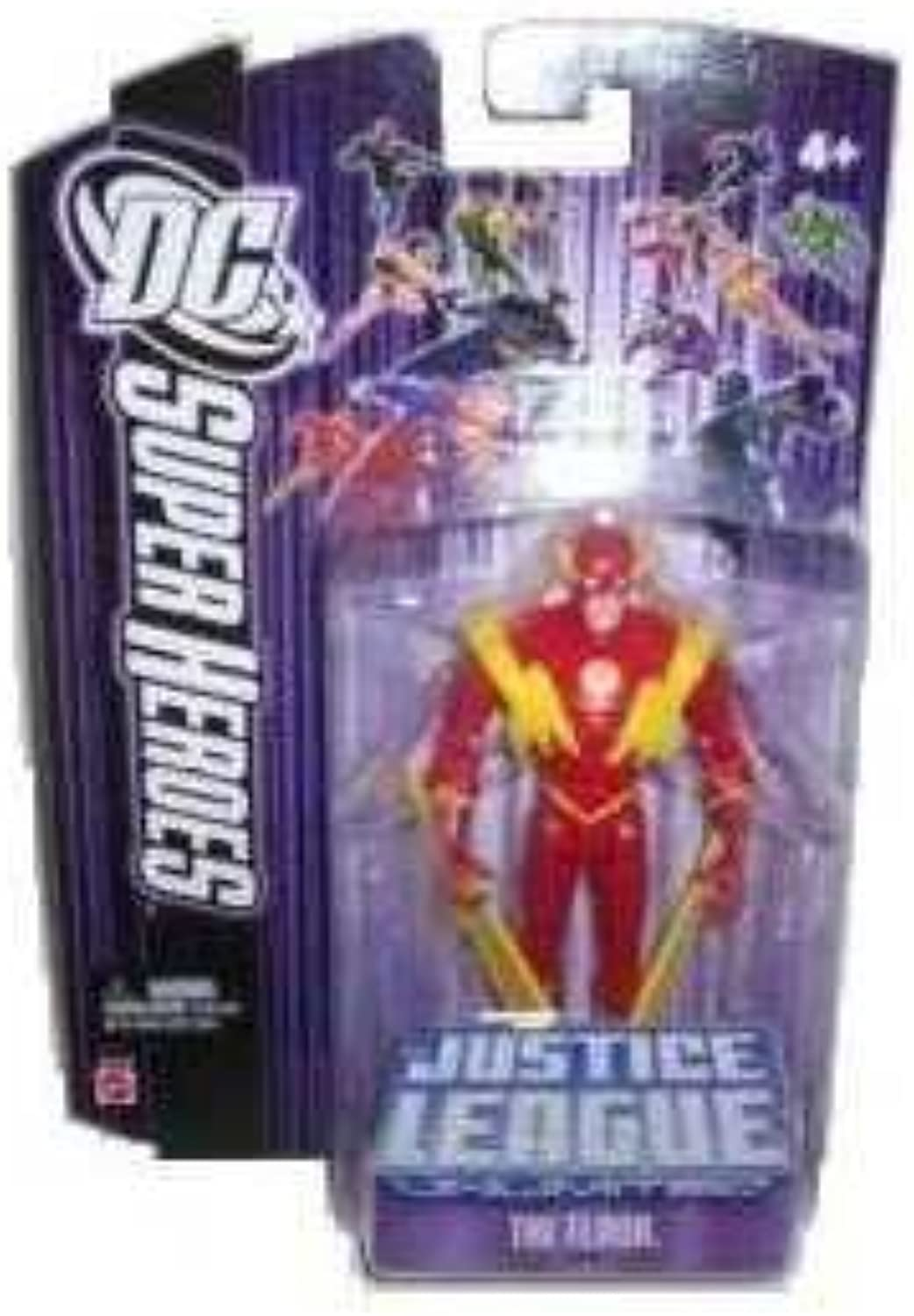 JLA - JUSTICE LEAGUE UNLIMITED - DC SUPER HEROES - THE FLASH - lila CARD