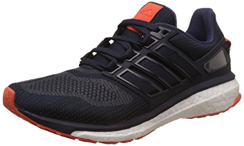 adidas Energy Boost 3 M, Scarpe Running Uomo, Blu (Night Navy/midnight Grey/energy Orange), 40 2/3 EU