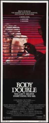 Body Double Insert Movie Poster 14x36
