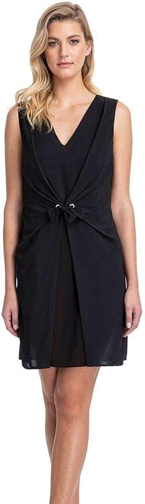 Gottex Women's Sleeveless V-Neck Beach Dress Swimsuit Cover Up