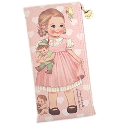 [韓国Afrocat] Korea Afrocatペーパードールメイト Storybook ペンケース多目的ポーチ ((Afrocat Paper Doll Mate New Storybook Pen Case Multi Purpose Pouch)