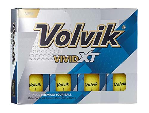 Volvik pour Homme Vividxt Balle de Golf, Homme, VIVIDXT,...