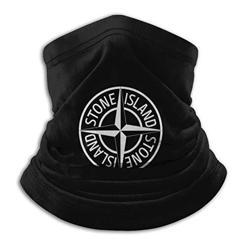 Custom made Stone Island Herren & Damen Mikrofaser-Halswärmer Gaiter Dehnbare Gesichtsbedeckung Halbmaske Schlauchschal Vielseitigkeit Bandana Stirnband Kopfbedeckung