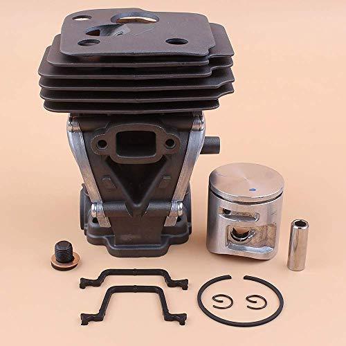 Kit de tapón de soporte de pistón de culata de cilindro de 42 mm compatible con piezas de motor de motosierra Jonsered 2245 2250 544 11 99-02