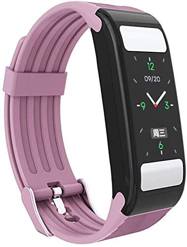 Gymqian Fitness Tracker Smart Bracelet, Smart Watches with Body Fat Monitor Calories Gym Sport Watches Heart Rate Wristband Fitness Tracker for Android iOS Sport Fitness Tracker Dai