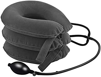 Sunany Cervical Neck Traction Device Inflatable Neck Support