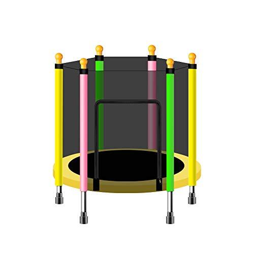 ZXQZ Oefening Trampoline Trampoline - Thuis Kinderen Indoor Oefening Trampoline Baby Mini Bouncing Bed Volwassen Fitness Trampoline Outdoor Vrije tijd Trampoline met Beschermende Net Max Lading 180kg Fitness T