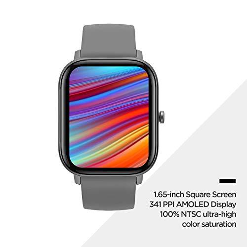 Huami Amazfit GTS Smart Watch(Lava Grey)