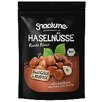 Bio Haselnusskerne (500g / 1kg) - Runde Römer Nüsse Piemont Italien - Rohkost, naturbelassen, unbehandelt und nicht blanchiert