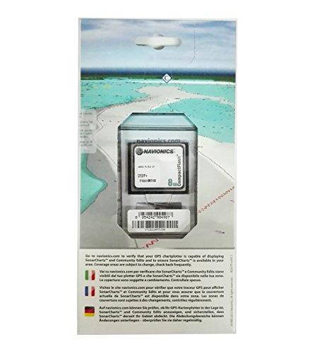 NAVIONICS PLATINUM Compact flash-carta Nautica, Abmessungen XL3Zone 31P Iberia