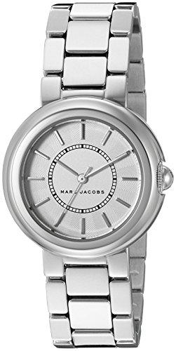 Marc by Marc Jacobs Damen Analog Quarz Uhr mit Edelstahl Armband MJ3464