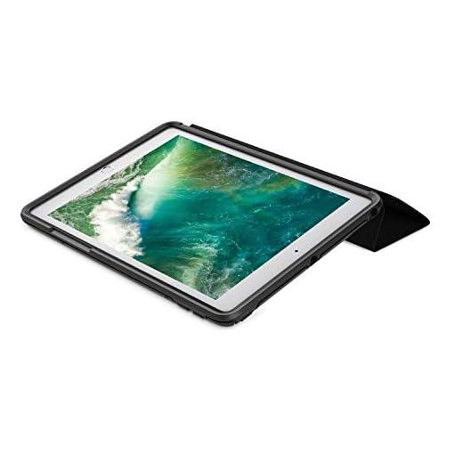 OtterBox Symmetry Folio, protección anticaídas con Tapa para Apple iPad 5&6 Gen con Soporte para lápiz. Negra. En Caja… 5