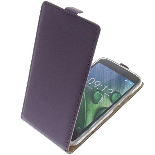 foto-kontor Tasche für Acer Liquid Zest Plus Smartphone Flipstyle Schutz Hülle lila