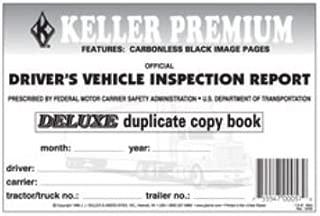 J.J. Keller Detailed Driver's Vehicle Inspection Report, 2-ply, Carbonless (4)