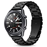 Spigen Modern Fit Compatible con Samsung Galaxy Watch 3 45mm Correa Band (2020) / Galaxy Watch 46mm Band (2018) / Gear S3 Frontier Band / S3 Classic Band - Negro