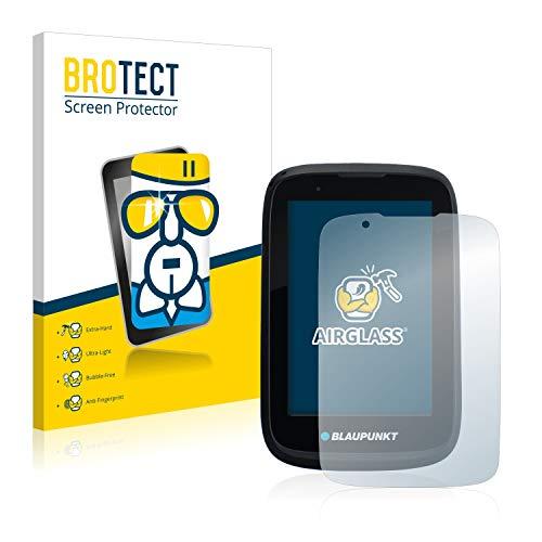 BROTECT Panzerglas Schutzfolie kompatibel mit Blaupunkt BikePilot 2 Plus - 9H Extrem Kratzfest, Anti-Fingerprint, Ultra-Transparent