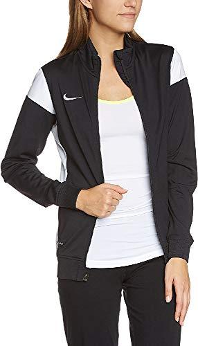 Nike Damen Sweatshirt Sideline Knit Academy 14 Jacke, Black/White/White, L
