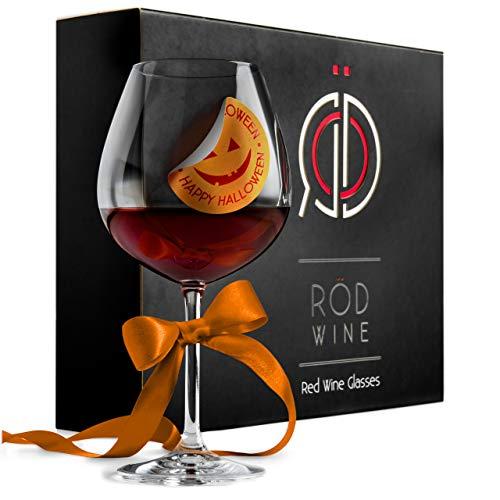 Red Wine Glasses - Lead Free Tit...