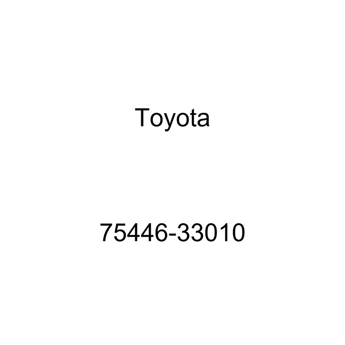 Toyota 75446-33010 Luggage Compartment Door Name Plate