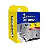 Michelin 670686 Air Comp Camara de bicicleta 26'' 2,1-2,6, valvula 35 mm, negro