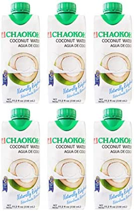 Chaokoh Agua de Coco Coconut Water 6 Pack Total of 67 2fl oz product image