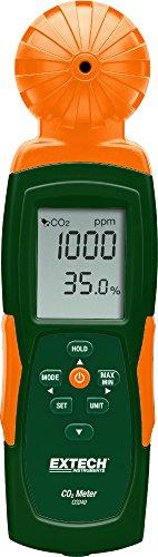 Extech Innenraum-Luftqualitätsmessgerät und Kohlendioxid-Messgerät, 1 Stück, CO240