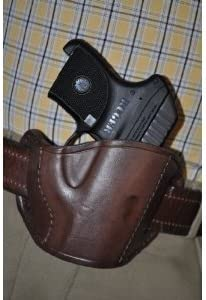 Pro-Tech Outdoors Brown Max 85% OFF Leather Belt Holster Ruger for Slide NEW Gun