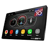 UGAR 10.1' EX10-L-DSP Universal Extended Version Car Stereo 2GB 16GB Android 10.0 Head Unit Double Din Touch Screen Radio Car Audio Indash GPS Navigation with Bluetooth WiFi …