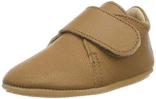 Däumling Baby-Jungen Lissi Sneaker, Braun (Lama Sattel 35), 19 EU