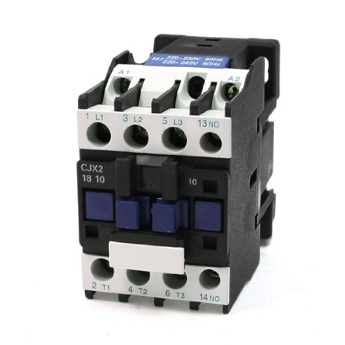 Aexit CJX2-18 Coil Distribution electrical Voltage 3 Phase 1NO 220-230V 50Hz AC Contactor 660V 32A