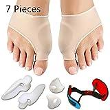 Corrector de juanete y alivio de juanete Protector mangas Kit - tratamiento de dolor en hallux valgus, adapta para la corrección de juanetes, dedo gordo del pie conjunta, martillo