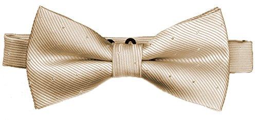 Flairs New York Little Gentleman's Kids Bow Tie (Rose Gold [Glitter Dots])