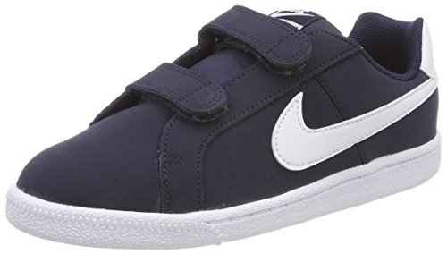 Nike Court Royale (PSV), Scarpe da Tennis Bambino, Blu (Obsidian/White 400), 31 EU