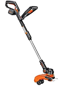 WORX 32-Volt GT2.0 String Trimmer/Edger/Mini-Mower with Tilting Head and Single Line Feed