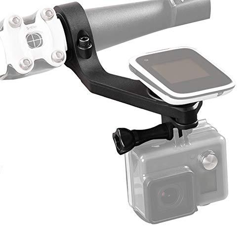 Andoer Fietshouder, houder voor stuur, computermontage, kit, out-Front Bike Mount Kit 25,4 mm / 31,8 mm voor Polar- M450 V650 GPS-fietscomputer voor GoPro Sony Garmin Virb X en XE voor SJ Cam actiecamera's