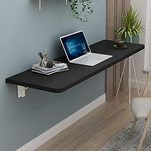 FMSBSC Wandklapptisch Holz Wandtisch klappbar Küchetisch Beistelltisch Laptoptisch Esstisch Schreibtisch Mehrzwecktisch,B,80 * 30cm/31 * 12in