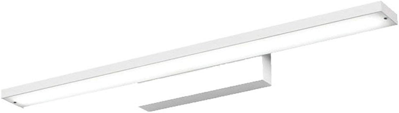 Geführte Spiegel-Lampen-Badezimmer-Spiegel-Licht, einfache moderne wasserdichte Nebel-Bad-Spiegel-Lampe (Farbe   Weiß-Weiß light-40CM)