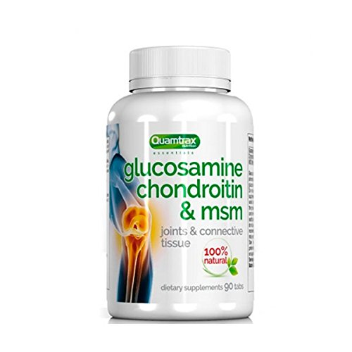 Quamtrax Essentials Glucosamine Chondroitin & MSM - 90 tabls.