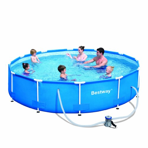 Bestway 56061US Steel Pro Above Ground Pool, 12' x 30'