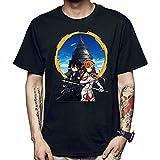 LxUqaq Sword Art Online Camiseta de Manga Corta Anime Sword Art Online Kirito Asuna Cosplay Disfraz Camisetas Camiseta de Personaje Camiseta de Verano con Cuello Redondo para Hombres y Mujeres