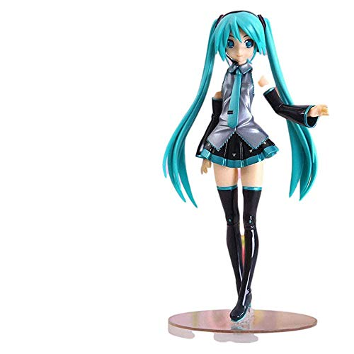 Anime Figures Hatsune Miku In Uniform Anime Figures Character Model Statue Toys Anime Model Collectibles Anime Gifts Toys Model Kits