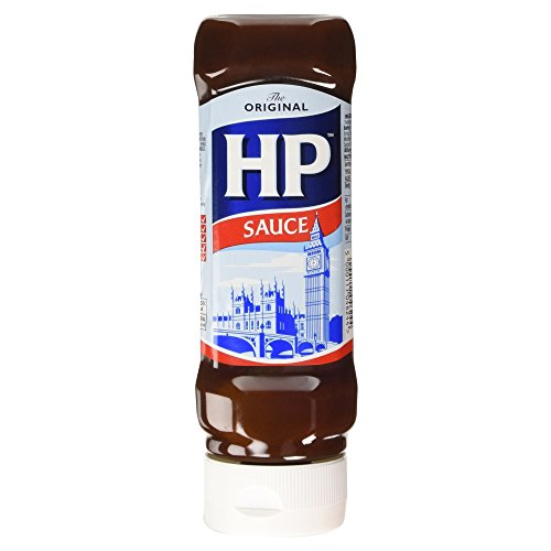 HP Original Brown Sauce Squeezy 450g - Die einzig Echte!