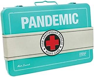 Z-Man Games ZMGZM7102 Pandemic Box för 10-årsdagen bröllopsdag, olika färger