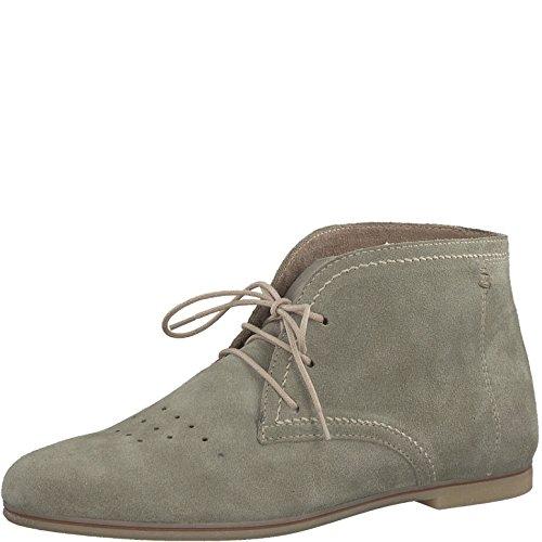 Tamaris 1-1-25208-20 Damen Stiefel, Boots, Stiefeletten für die modebewusste Frau grün (Emerald), EU 38
