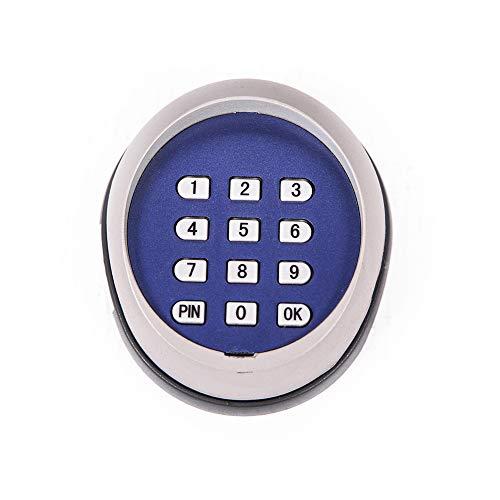 TOPENS TKP3 Elektronischer Programmierschalter, Funk-Codetaster Funkfernbedienung zur Steuerung der Torantribe und Toröffner, 433.92 MHZ, 3St. Batterie AAA