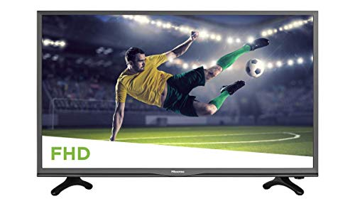 Hisense 40EU3000 2018 Modelo H3E Serie 40″ Clase FHD LED TV (Renewed)