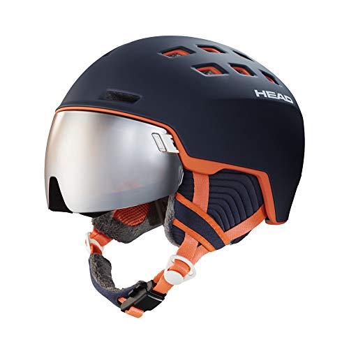 HEAD Rachel Skihelm Snowboardhelm, Blau/Lachs, XS-S